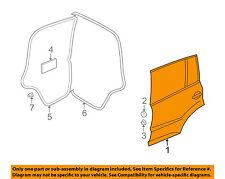VW VOLKSWAGEN OEM 09-16 Tiguan Rear Door-Shell Frame Panel Left 5N0833055A