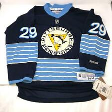 NWT Throwback Pittsburgh Penguins #29 Fleury Jersey Youth Kids Size S/M