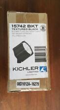 New listing Kichler Led Accent Landscape Flood Light Textured Black 15742 Bkt 8.5W 12 Volt
