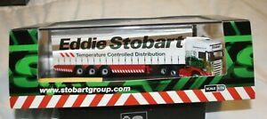 EDDIE STOBART SCANIA  CURTAINSIDE LORRY OXFORD DIECAST