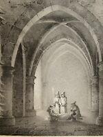 Jean-Baptiste ARNOUT (1788-1865) RARE LITHO CLAIR OBSCUR DIJON BOURGOGNE 1820 b