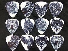 10pcs 0.71mm Christmas Gift Cartoon Wild Animal Design Guitar Picks Plectrums