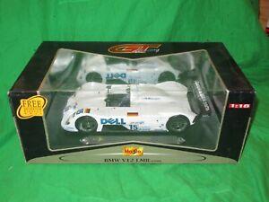 Maisto 1/18th scale BMW V12 LMR Le Mans 1999 VGC boxed