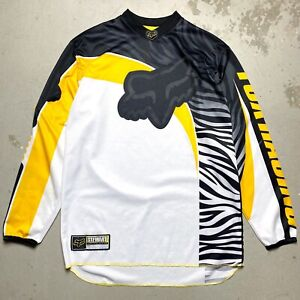 Vintage 2003 Fox Racing James Stewart Edition Motocross Jersey Medium