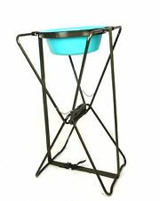 US Military Brenner Portable Folding Aluminum Stand Wash Basin with carrier