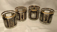 Roaring Twenties Drink bar Glasses Set Of 4 Movie Collection entertainment 1920s