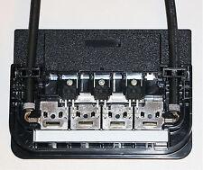 Solar PV Anschlussdose mit 1 Meter Kabel, MC4 Stecker 3 x Dioden 600V 20A