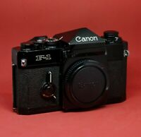 Canon F-1 Old - Body + 2 Focusing Screen - Working - N Mint