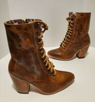 Brand New Freebird By Steven Rebel Leather Boots Women's Size 9 Retail $295