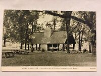 Vintage Postcard Illinios White Pines Forest State Park Not Used