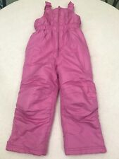 Girls Snow Ski Jumpsuit Overall Pink ~ Size 4T