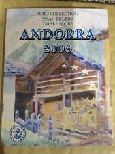 More details for andorra 2003   euro  pattern coin set - free uk p&p