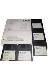 Ekra E4/E5/X5 Screen Printer Machine & Pc Operating Software Version 3.30 Rev.1