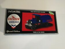 Ertl Collectibles Chevron Gasolines 1925 Kenworth Tanker With COA 1:34 Scale