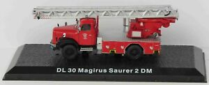 EX MAGAZINE DL30 MAGIRUS SAURER 2 DM FIRE ENGINE LZ01