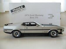 Danbury Mint - 1971 Ford Mustang Boss 351 - 1/24 Diecast