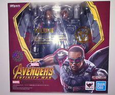 Falcon SH Figuarts Faucon S.H. FIGUART Avengers MCU SHF Bandai 6'' figure MINT