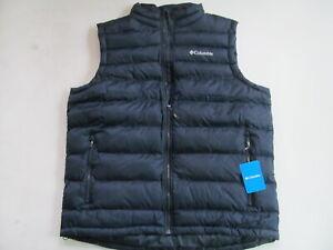 Columbia New Discovery XO0857 464  man blue vest sz XL New $110