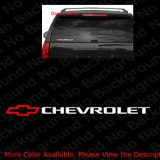 Big Chevy Impala Logo Rear Window Decal Vinyl Sticker Chevrolet SS LS RS 96