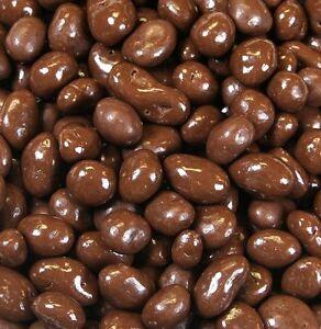 Milk Chocolate Covered Peanuts & Raisins Mixture Sweets Kingsway 100g - 1kg Bags