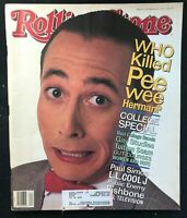 ROLLING STONE Magazine - Oct 1991 - PEE WEE HERMAN / LL Cool J / Paul Simon