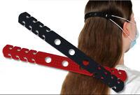 10x Maskenhalter für Schutzmaske Mundschutz Ohrenschoner Silikon Nackenband