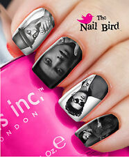 Nail Art Nail Decals Nail Transfers Natural/Acrylic Nails - BRUNO MARS MIXED SET