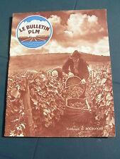 bulletin PLM 1937 53 MERCUREY VOLNAY POMMARD BEAUNE ALGéRIE AUTUN VICHY AVON