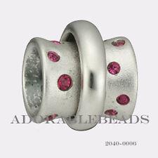 Authenitc Chamilia Soho Collection Silver Stella Fuchsia Bead 2040-0006 SALE!!!