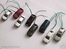 8 pcs Head Light 6V to 12V LED Train Scenery HO Scale 1/87 Model Car