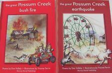 GREAT POSSUM CREEK BUSH FIRE & EARTHQUAKE Poems Dan Vallely, Illus Yvonne Perrin