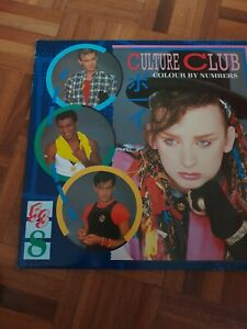 "Culture Club Colour By Numbers 12"" Vinyl LP  Mint Condition"