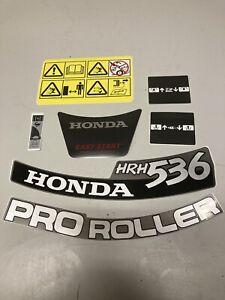 Honda Hrh536 Mower Genuine Decal Stickers