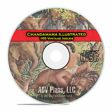 Chandamama Illustrated Magazine, 169 Indian Kids Magazine Issues, CD E26