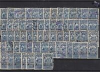 chile revenue  stamps  ref 12340