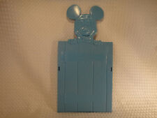 Vintage Disney Mickey Mouse Blue Plastic Book Rack End Holder