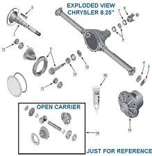 """Track Lock Chrysler Dodge 8.25"""" Positraction Limited Slip 29 Spline Carrier Kit"""