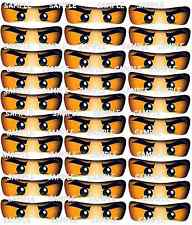30 PRINTED small Ninjago inspired Eye Stickers,Party Supplies,CUT & PEEL,masks