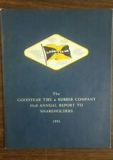 1951 Goodyear Tire & Rubber Company 53rd Annual Report to Shareholders