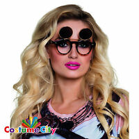 Womens Steampunk Flip-Up Sunglasses Vintage Fancy Dress Costume Accessory