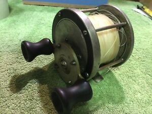 ANTIQUE FISHING REEL PFLUEGER Everlaster 350 Free Spool Very Rare , Working