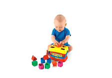 NEW FISHER PRICE BABY'S FIRST BLOCKS ACTIVITY CHILDREN ENTERTAINMENT PLAY TOYS