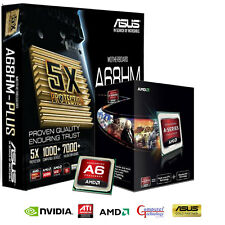 Upgrade bundle kit-FM2 A6 6400K ASUS A68HM-PLUS carte mère & wifi dongle
