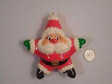 "1984 Hallmark Keepsake Christmas Ornament ~ Santa Star ~3 1/2"" Tall"