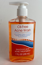 OIL-FREE ACNE WASH Treatment SALICYLIC ACID Face Clean 7 Oz New