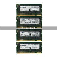 4GB 4x1GB DDR SO-DIMM PC3200S 200Pin PC3200 DDR1 400MHz Laptop Sodimm Memory Ram