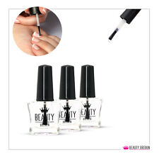 6 x BASE COAT & TOP COAT NAIL VARNISH POLISH SET CLEAR NAIL VARNISH FROM UK