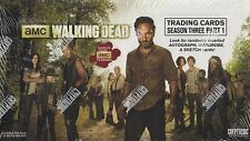Cryptozoic Walking Dead Season 3 Part 1 Trading Card Box