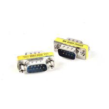 15 Pin VGA SVGA HD15 Gender Changer Coupler Adapter Converter Male to Male SETY