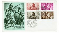 Spanish Guinea 1953 Music Series First Day Cover - Z218